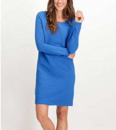 Dámské šaty GARCIA DRESS 3091 snorkel blue snorkel blue XL