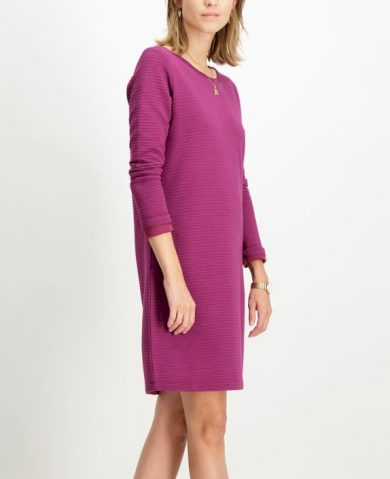 Dámské šaty GARCIA DRESS 3201 plum caspia plum caspia XL