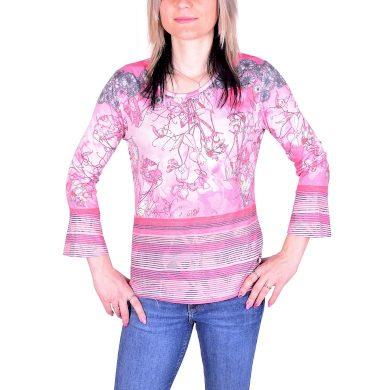 Dámské tričko HAJO D Shirt 325 flamingo flamingo velikost 40