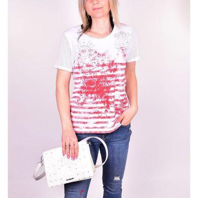Dámské tričko HAJO D Shirt 343 mohn mohn velikost 38
