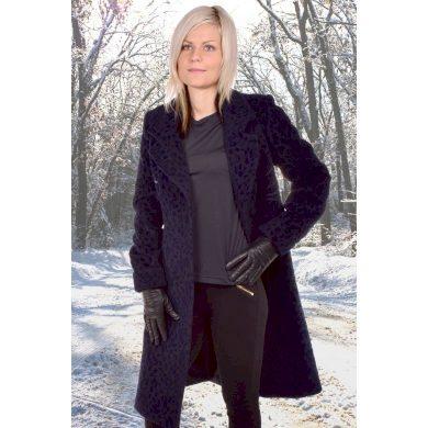 Dámský zimní kabát MARLENE ML MARTINA modrá modrá velikost 38