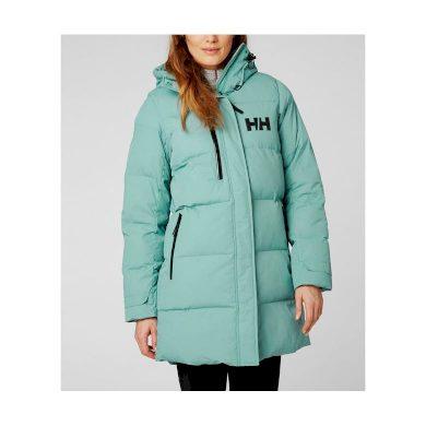 Dámský zimní kabát HELLY HANSEN W ADORE PUFFY PARKA 443 JADE JADE L
