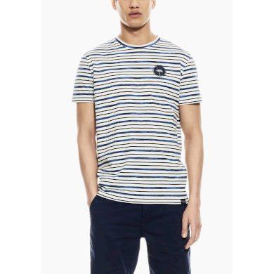 Pánské triko GARCIA T-Shirt 53 Off White Off White L