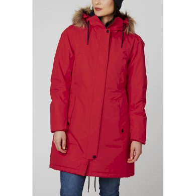 Dámský zimní kabát HELLY HANSEN W MAYEN PARKA 222 ALERT RED ALERT RED S