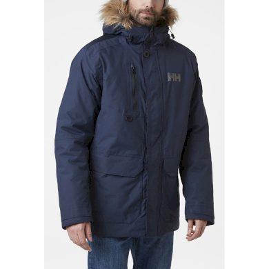 Pánská zimní bunda HELLY HANSEN SVALBARD PARKA 597 NAVY NAVY L