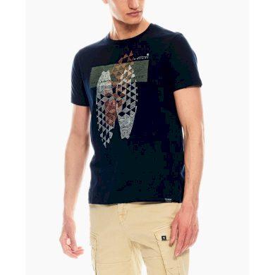 Pánské triko GARCIA T-shirt Dark Moon XL