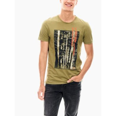 Pánské triko GARCIA T-shirt Sage L