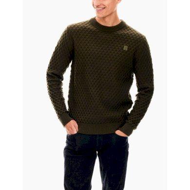 Pánský svetr GARCIA Pullover Modern Army L