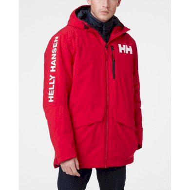 Pánská zimní bunda HELLY HANSEN ACTIVE FALL 2 PARKA 162 red red L