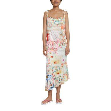 Dámské šaty DESIGUAL KO TAO BLANCO M
