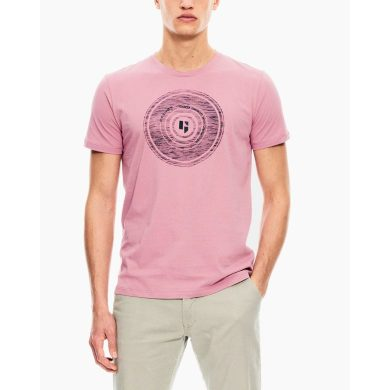 Pánské triko GARCIA T-shirt short sleeve mauve mist L