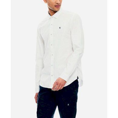 Pánská košile GARCIA shirt long sleeve white L