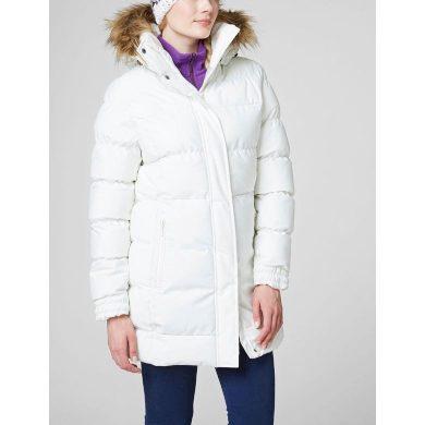 Dámský zimní kabát HELLY HANSEN W BLUME PUFFY PARKA 011 OFF WHITE OFF WHITE L