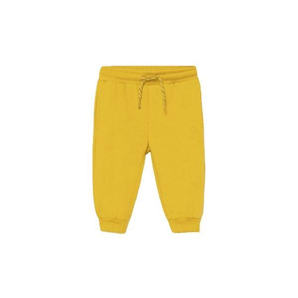 MAYORAL chlapecké tepláky basic žlutá