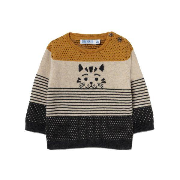 MAYORAL chlapecký svetr kocour béžová