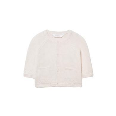 MAYORAL chlapecký pletený svetr elegant smetanová
