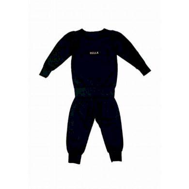 JAMIKS souprava tepláky a tričko Lindana černá
