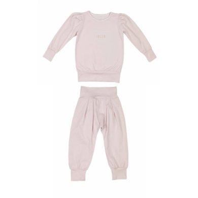 JAMIKS dívčí souprava tepláky a tričko Lindana růžová