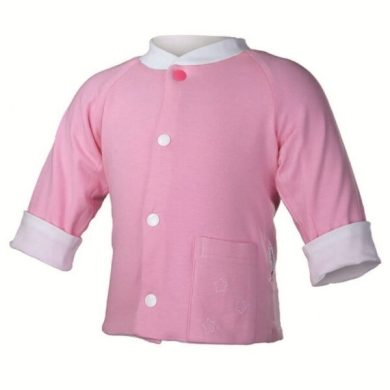 Kabátek oboustranný Outlast®, barva bílá/stř.růžová