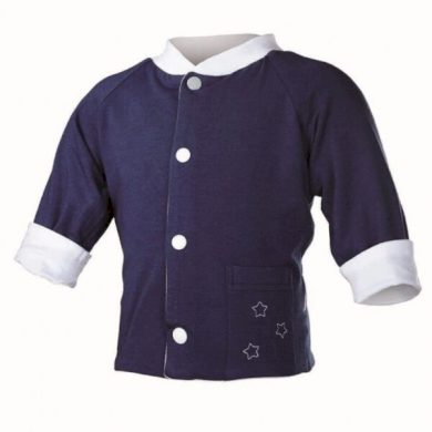 Kabátek oboustranný Outlast®, barva bílá/tm.modrá