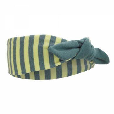 Čelenka smyk Outlast®  barva pruh limetkový/khaki