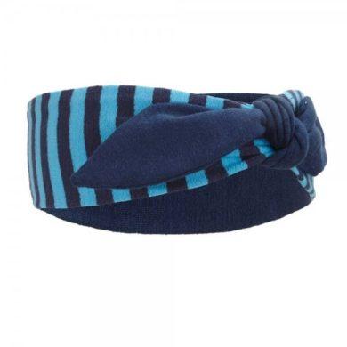 Čelenka smyk Outlast®, barva pruh oceán/tm.modrá