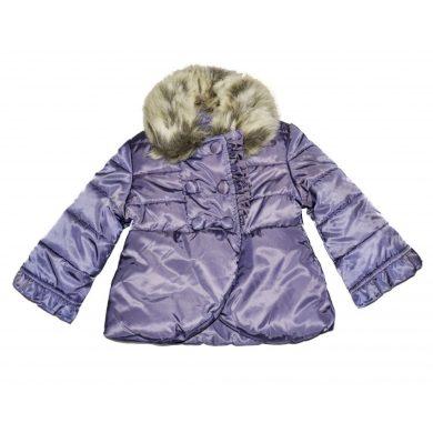 Mayoral Dětská zimní bunda - fialová