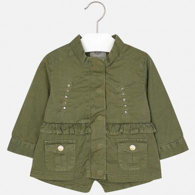 MAYORAL dívčí jarní kabát - zelený