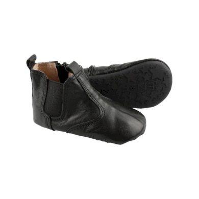 EN FANT dětské kožené botičky - 20 - černé