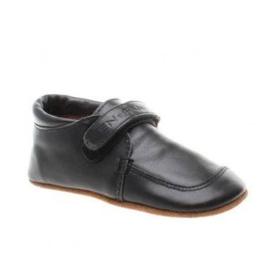 EN FANT dětské kožené botičky - 21 - černé