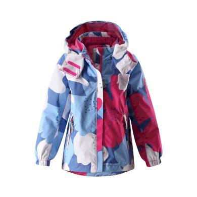 Reima dívčí bunda Tuuli 521488 - bílo modro růžová