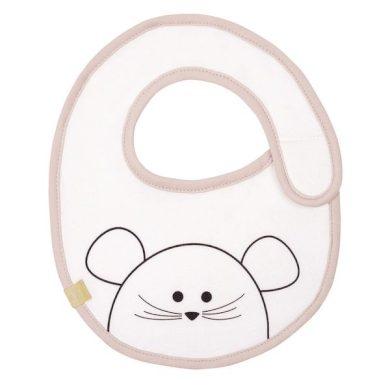LÄSSIG bryndák Waterproof Little Chums myška růžová