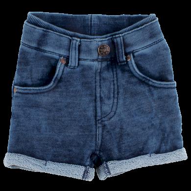 FIXONI dívčí jeans kraťasy - tmavě modré