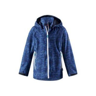 REIMA chlapecká softshellová bunda Auger - modrá