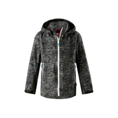 REIMA chlapecká softshellová bunda Auger - černá