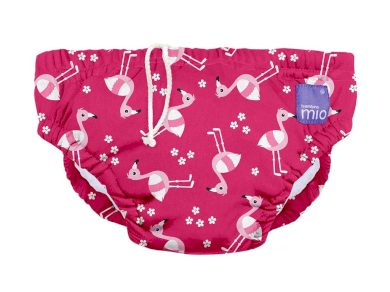 BAMBINO MIO Kojenecké plavky Pink Flamingo