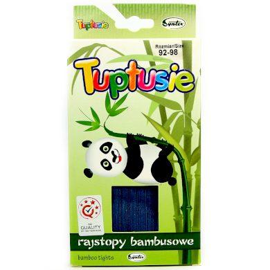 TUPTUSIE punčocháče bambus tmavě modrá