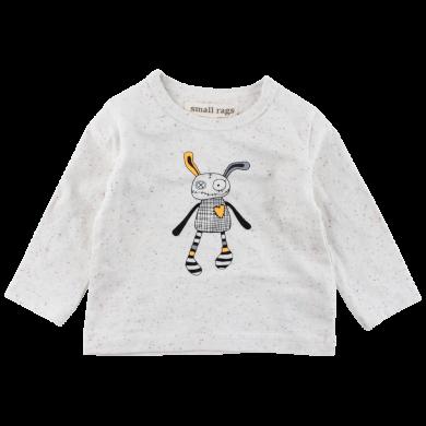SMALL RAGS dětské tričko DR tečky béžová