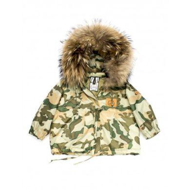LATTANTE bunda maskáč přírodní kožešina