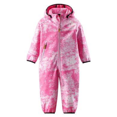 REIMA dívčí softshellový overal Kotilo - Rose pink