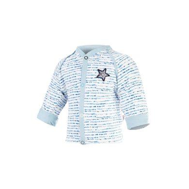 LITTLE ANGEL Kabátek podšitý Outlast® modrý proužek/sv.modrá