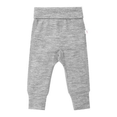 REIMA dětské měkké vlněné kalhoty Kotoisa Melange Grey