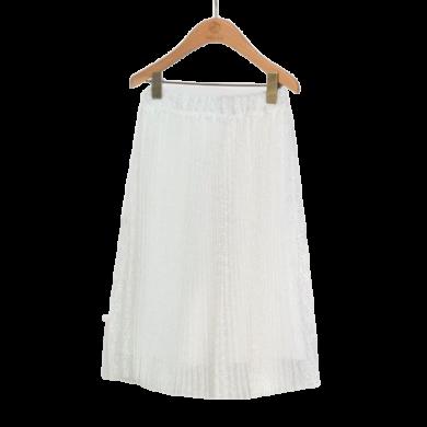 ABEL & LULA dívčí plisovaná sukně bílá