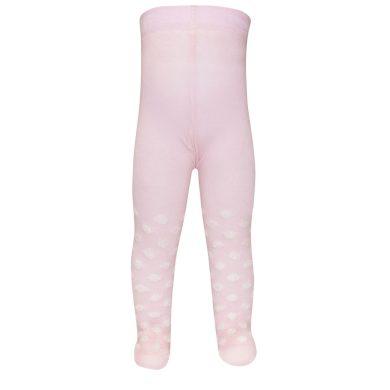 EWERS dětské punčocháče puntíky růžová