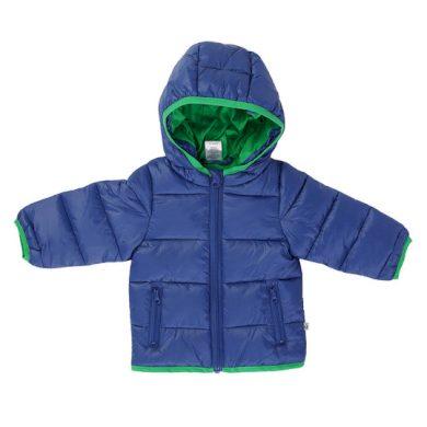 JACKY dětská zimní bunda outdoor - modro zelená