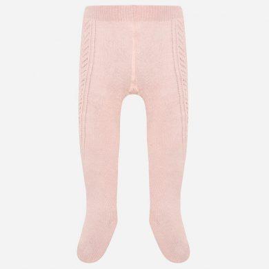 MAYORAL dívčí tkané punčochy růžová