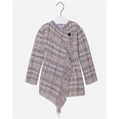 Mayoral dívčí pletený svetr - šedý