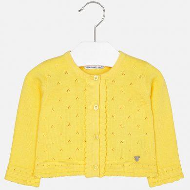 MAYORAL dívčí lehký svetřík - žlutý