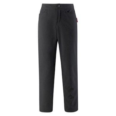 REIMA dívčí softshellové kalhoty Idole - black