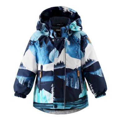 REIMA dětská zimní bunda s membránou les Ruis Navy